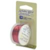 Artistic Wire, 18 Gauge (1.0 mm), Red, 4 yd (3.6 m)