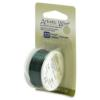 Artistic Wire, 22 Gauge (0.64mm), Green, 8 yd
