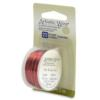 Artistic Wire, 22 Gauge (0.64mm), Red, 8 yd