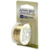 Artistic Wire, 24 Gauge (.51 mm), Tarnish Resistant Brass, 10 yd (9.1 m)