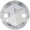 Sew on Acrylic Rhinestones 11mm Crystal