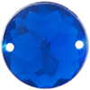 Sew on Acrylic Rhinestones 15mm Light Sapphire