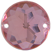 Sew on Acrylic Rhinestones 11mm Rose