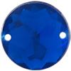 Sew on Acrylic Rhinestones 13mm Sapphire