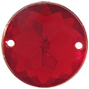 Sew on Acrylic Rhinestones 11mm Ruby