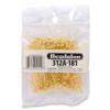 Head Pins, 2.0 in (50.8 mm), Fancy, Gold Color, 144pcs