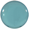 Acrylic (Plexiglass) Round Shaped Cabochon 11mm Aqua