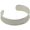 9mm Narrow Channel Cuff Bracelet in Silver