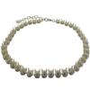 Empty Cupchain Necklace for Swarovski 1088 ss39 Chatons Silver ( Imitation Rhodium )