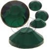 Alora Flatback Rhinestones 12ss Emerald
