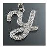"""Rhinestone Initial Key Chain """"Y"""""""