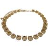 Empty Cup Chain Necklace Hand Set Stones Gold with 25 boxes for Swarovski 1122 12mm