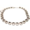 Empty Cup Chain Necklace Hand Set Stones Silver with 25 boxes for Swarovski 1122 12mm