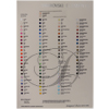 SWAROVSKI COLOR CHART - 2058 Xilion Flat Back Colour Chart