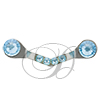 SpecSecure by ReadeREST with SWAROVSKI CRYSTALS Aquamarine