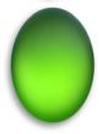 Lunasoft Lucite Cabochons Oval 18.5x13.5mm Lime
