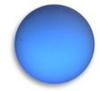 Lunasoft Lucite Cabochons Round 18mm Blueberry