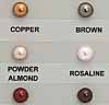 SWAROVSKI ELEMENTS Pearl Color Chart