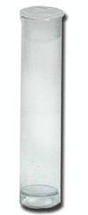Rectangle Plastic Tube with Flat Cap