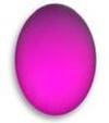 Lunasoft Lucite Cabochons Oval 18.5x13.5mm Raspberry