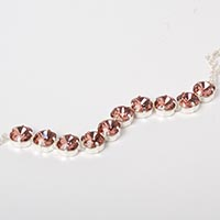 Blush Rose Cup Chain Bracelet