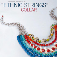 Ethnic Strings Collar