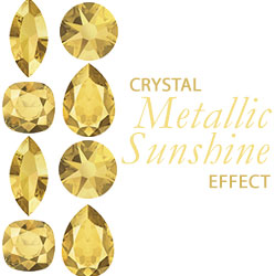 Crystal Metallic Sunshine