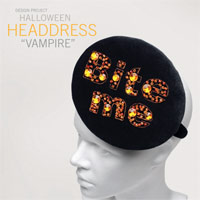 Halloween Vampire Headdress