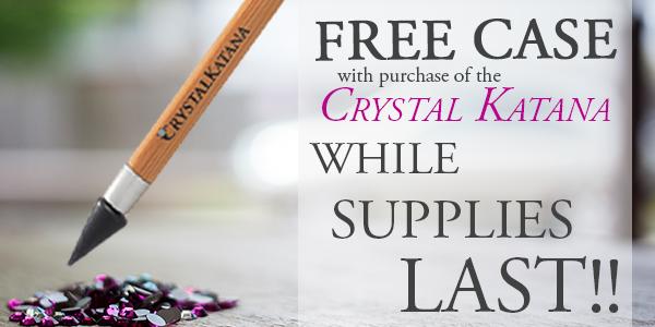 Crystal Katana Rhinestone Pickup