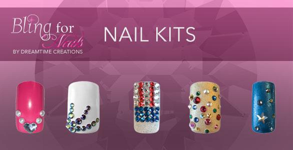 Bling For Nails Crystal Kits