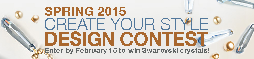 Spring 2015 Create Your Style Design Contest