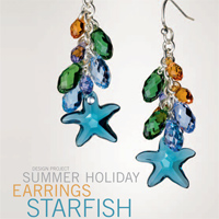 Summer Holidays Earrings Starfish