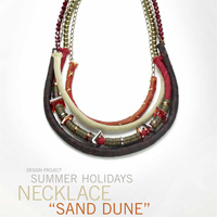 Summer Holidays Necklace Sand Dune