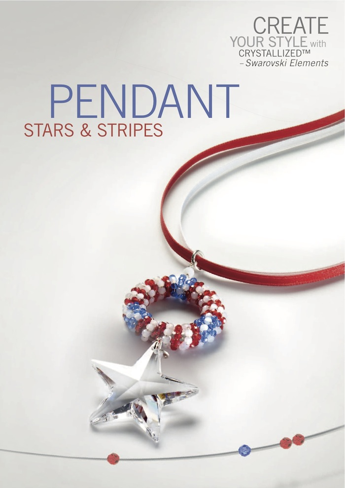 4th of July Pendant by SWAROVSKI™