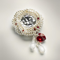 Brooch: Love by SWAROVSKI™