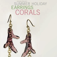 Earrings Corals