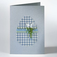 Easter Egg Card by SWAROVSKI™
