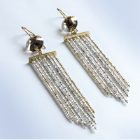 Golden Earrings by SWAROVSKI™