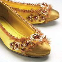 Golden Shoes by SWAROVSKI™