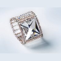 Wired Square Ring by SWAROVSKI™