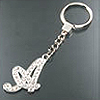 Crystalized Initial Key Chains