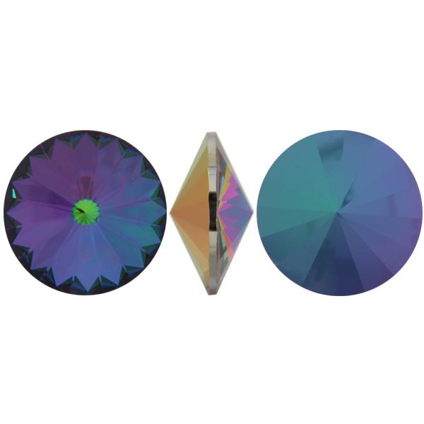 Swarovski 1122 Rivoli Round Stone Crystal Electra 18mm