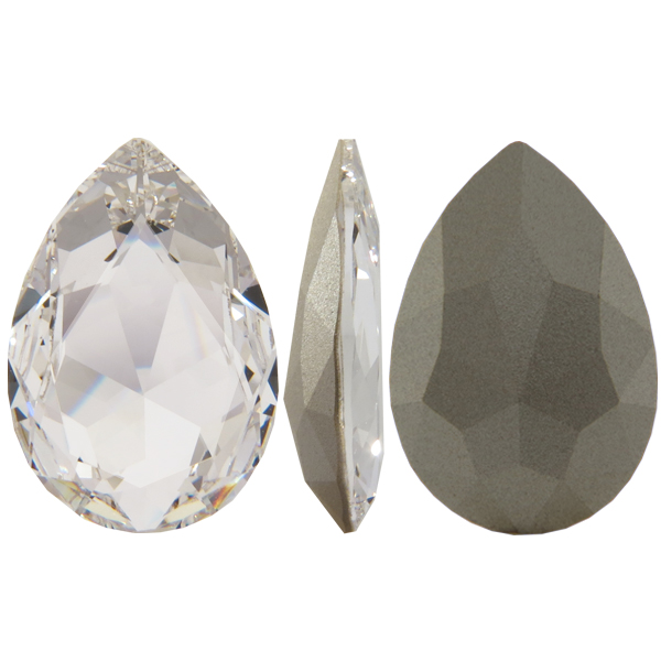 Swarovski 4327 Large Pear Shaped Fancy Stone Crystal 30x20mm