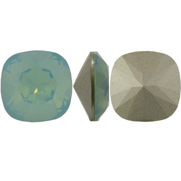 Swarovski 4470 Cushion Cut Square Fancy Stone Pacific Opal 12mm