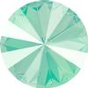 Swarovski 1122 Rivoli Round Stone Crystal Mint Green 12mm