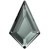 Swarovski 2771 Kite Flat Back Black Diamond 12.9x8.3mm