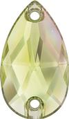 Swarovski 3230 Drop Sew-on Crystal Luminous Green 12x7mm