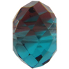 Swarovski 5040 Briolette Bead Burgundy-Blue Zircon Blend 6mm
