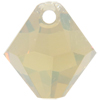 Swarovski 6301 Top Drilled Bicone Pendant Sand Opal 6mm