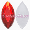 Acrylic (Lucite) Navettes Rhinestones 15mm x 7mm